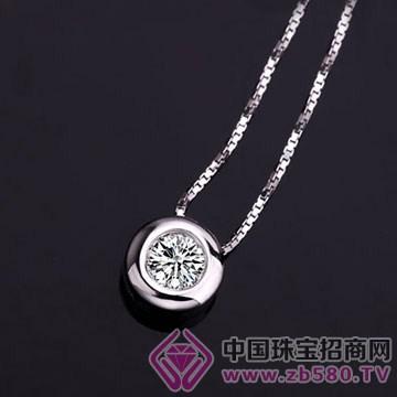 亨福珠宝-钻石吊坠14