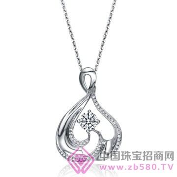 亨福珠宝-钻石吊坠16