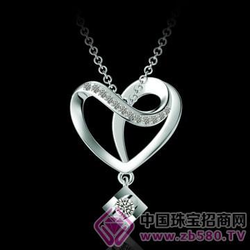 亨福珠宝-钻石吊坠17