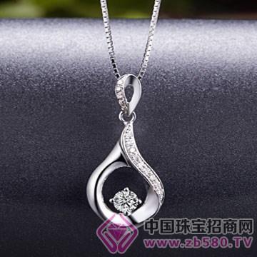 亨福珠宝-钻石吊坠19