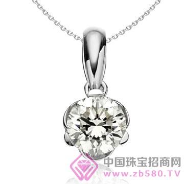 亨福珠宝-钻石吊坠20