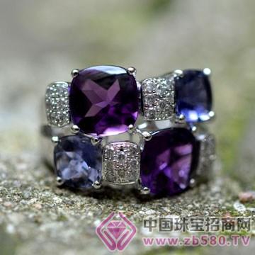 如水珠宝-彩宝戒指01