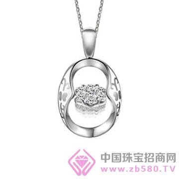 宝银莊银饰-镶钻吊坠03