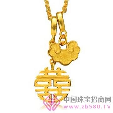 粤海仰忠汇珠宝城-黄金吊坠06