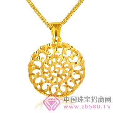 贵玲珑珠宝-黄金吊坠