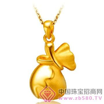 贵玲珑珠宝-黄金吊坠2