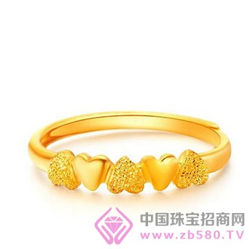 贵玲珑珠宝-黄金戒指1