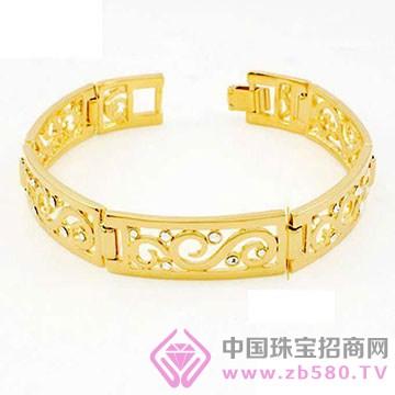 贵玲珑珠宝-黄金手镯