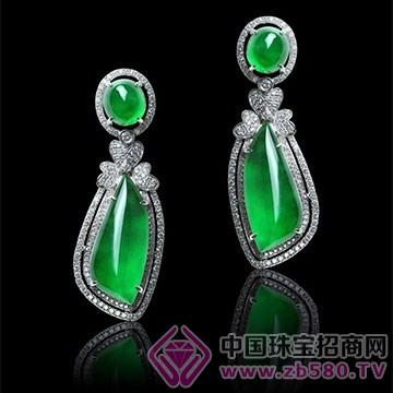 贵玲珑珠宝-翡翠耳钉