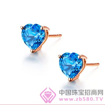 罗亚卡尔珠宝-宝石耳钉11