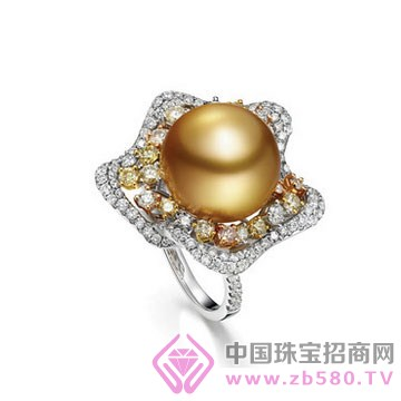 美裕珍珠-珍珠戒指01