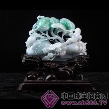 神圣玉雕-翡翠摆件13