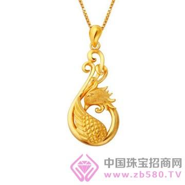 申国黄金-黄金吊坠01