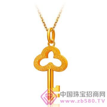 申国黄金-黄金吊坠02