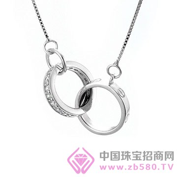 天宝成银楼-纯银吊坠05