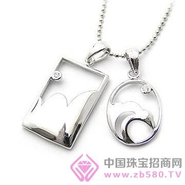 天宝成银楼-纯银吊坠07