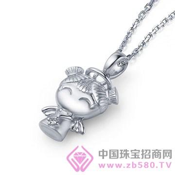 天宝成银楼-纯银吊坠08