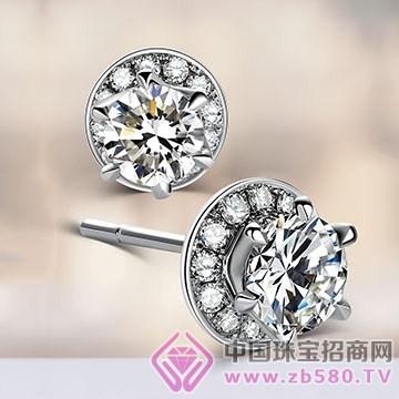 王老五钻石-钻石耳钉【吾情】