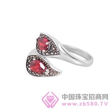 卡芙尼银饰戒指1
