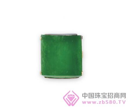 NO.3缅甸天然翡翠牌戒指