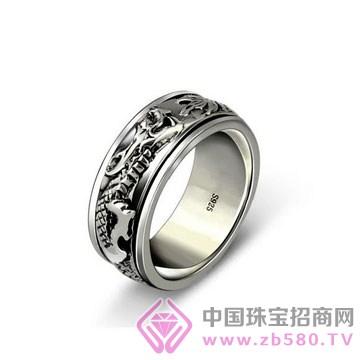 爱蒂尔银饰-纯银戒指01