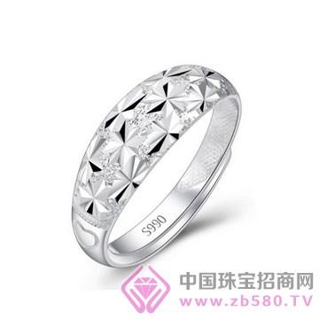 爱蒂尔银饰-纯银戒指10