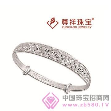 尊祥珠宝-纯银手镯10