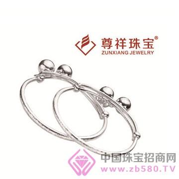 尊祥珠宝-纯银手镯11