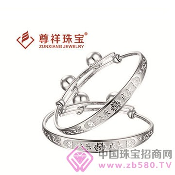 尊祥珠宝-纯银手镯12