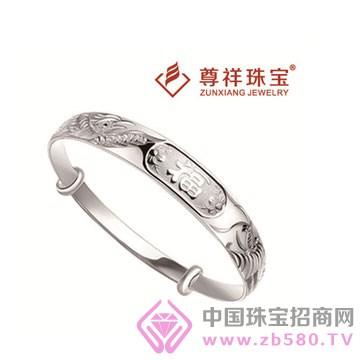 尊祥珠宝-纯银手镯17