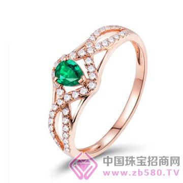 福美瑞珠��-彩��戒指06