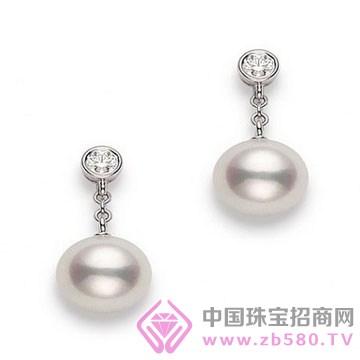锦家福中国银楼-珍珠耳坠01