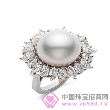 锦家福中国银楼-珍珠戒指01