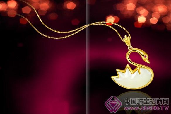 广告语一见证真爱-金大尊   品牌定位:九州福饰   品牌使命:珍藏图片
