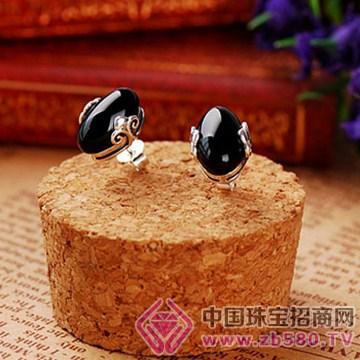 建银珠宝耳钉3