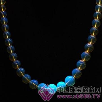 蓝珀世界-蓝珀项链02