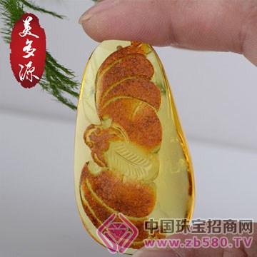 美多源珠宝-琥珀吊坠09