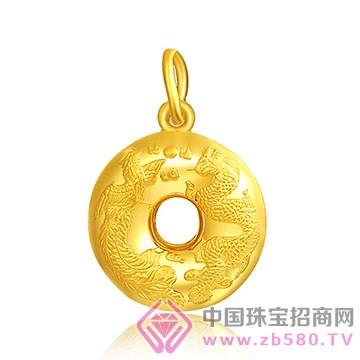 戴福珠宝-黄金吊坠6