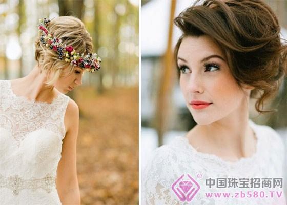 短发新娘发型图片 打造清新新娘