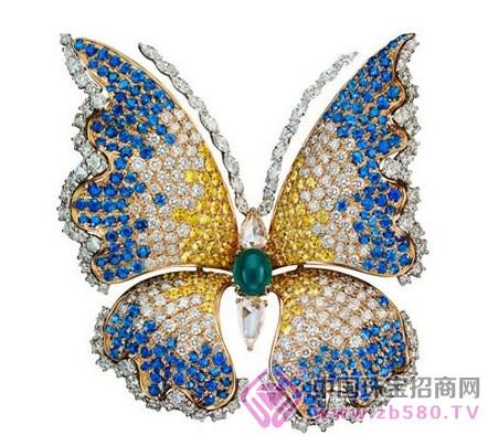 珠宝手绘图透视