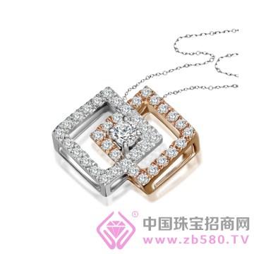 天富珠宝-钻石吊坠01