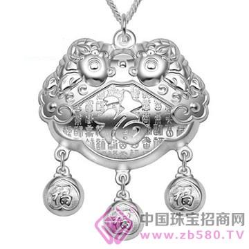 俏派银-纯银宝宝锁包06