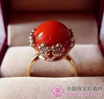米珠子编织戒指图片