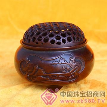 汇安沉香紫铜炉2