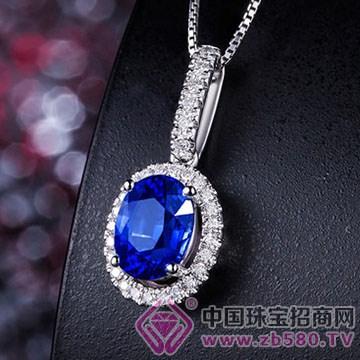 蓝晶灵-蓝宝石吊坠03