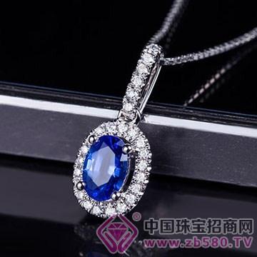 蓝晶灵-蓝宝石吊坠04