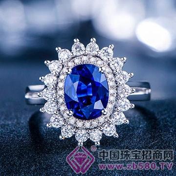 蓝晶灵-蓝宝石戒指01