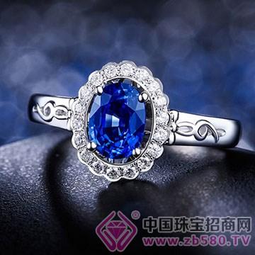 蓝晶灵-蓝宝石戒指02