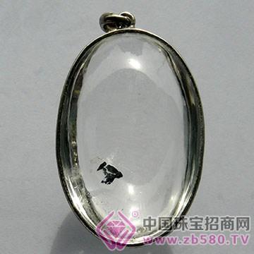 石来运好-白水晶挂件01