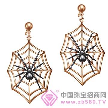 "ADK""Special spider""系列K金耳钉"